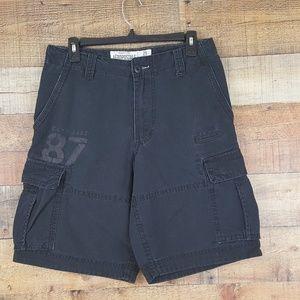 Aeropostale 7 Pocket Cargo Shorts Men's Size 29 Bl